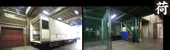 専用EVで楽々搬入!大量機材も大容量倉庫で保管可能!